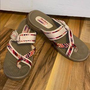 Practically 🆕 Slip On Sandal Skechers 🛍